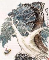 知音图 镜心 设色纸本 - 109895 - 中国书画(一)当代专场 - 2011秋季艺术品拍卖会书画专场 -收藏网