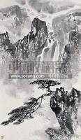 山水 立轴 水墨纸本 - 张登堂 - 中国书画 - 2010春季艺术品拍卖会 -收藏网