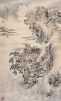山水 -  - 中国书画 - 2006广州冬季拍卖会 -收藏网