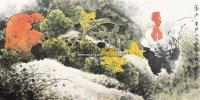 家山果肥 镜片 纸本 - 1459 - 民间收藏书画拍卖会 - 民间收藏书画拍卖会 -收藏网