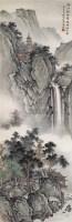 深山锁塔图 立轴 设色纸本 - 马骀 - 中国书画(二) - 2006年秋季艺术品拍卖会 -收藏网