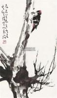 啄木鸟 镜片 纸本 - 孙其峰 - 中国书画(一) - 2011年春季拍卖会 -收藏网