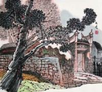 古亭 镜心 设色纸本 - 4451 - 中国书画专场 - 2008第三季艺术品拍卖会 -收藏网