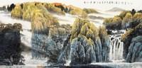 山水 镜心 纸本 -  - 中国书画 - 2012秋季艺术品拍卖会 -收藏网