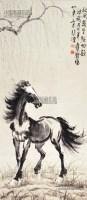 奔马 立轴 纸本 - 116101 - 中国书画 - 2013年首届艺术品拍卖会 -收藏网