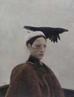 乌鸦是美丽的 油彩  画布 - 140640 - 中国油画雕塑 - 2012年春季大型艺术品拍卖会 -收藏网