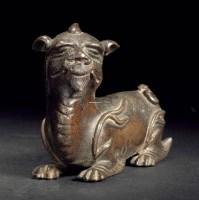 甪端铜纸镇 -  - 旧时明月专场 - 2012年秋季艺术品拍卖会 -收藏网