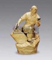 石湾文革人物 -  - 瓷器杂项 - 2013迎春艺术品拍卖会 -收藏网