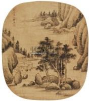 山水 立轴 水墨纸本 - 11505 - 中国书画 - 第二期艺术品拍卖会 -中国收藏网