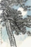 举头望明月 镜片 设色纸本 - 何海霞 - 近现代书画专场(二) - 2012秋季艺术品拍卖会 -收藏网