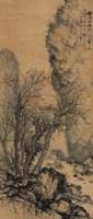 鸦噪夕阳斜 立轴 设色纸本 - 134104 - 中外书画精品 - 2012年《第一拍卖厅》冬季专场拍卖会 -收藏网