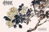 花卉 镜片 纸本 - 9937 - 中国书画 - 2013年首届艺术品拍卖会 -收藏网