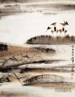 风景 立轴 纸本 - 20146 - 中国书画 - 2013年首届艺术品拍卖会 -收藏网