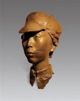 贺子珍 青铜 雕塑 2/8 - 洪涛 - 中国油画及雕塑 - 2012秋季拍卖会 -收藏网