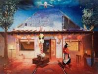 新娘从天而降 布面 油彩 - 岂梦光 - 中国油画及雕塑 - 2012年秋季拍卖会 -收藏网