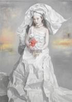 逝·歌 油画画布 画框 - 曾传兴 - 当代亚洲艺术 - 2012秋季拍卖会 -中国收藏网
