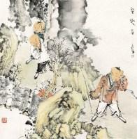 童趣图 镜片 设色纸本 -  - 中外书画精品 - 2012年《第一拍卖厅》冬季专场拍卖会 -收藏网