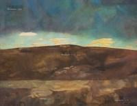 远方的云 油彩 布面 - 朝戈 - 中国现当代美术-油画雕塑 - 2013春季拍卖会 -收藏网
