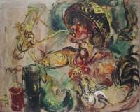 甜酒 压克力颜料画布 -  - 现代及当代东南亚艺术 - 2013年春季拍卖会 -收藏网