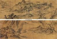 携琴访友 手卷 设色绢本 - 117077 - 旧梦遗痕—中国古代书画 - 2012年秋季书画艺术品拍卖会 -中国收藏网