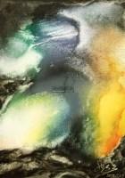 弄影 布面 油画 -  - 当代书画保真返收购专场 - 2012年秋季当代书画保真返收购专场拍卖会 -收藏网