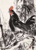 鸡 镜框 纸本 - 黄胄 - 书画(二) - 2012秋季艺术品拍卖会 -收藏网