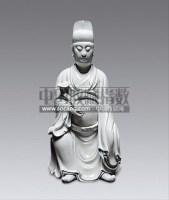 德化白瓷博及渔人文官坐像 -  - 瓷器杂项 - 2013迎春艺术品拍卖会 -收藏网