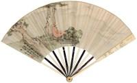 高士瞻远 成扇 设色纸本 - 9575 - 中国古代书画 - 2012秋季拍卖会 -收藏网