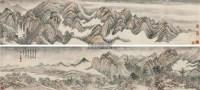 仿古山水手卷 手卷 设色纸本 - 149046 - 中国书画二 - 2012春季艺术品拍卖会 -收藏网