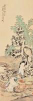 人物 镜片 纸本 - 145598 - 中国书画 - 2013年春季中国书画专场拍卖会 -收藏网
