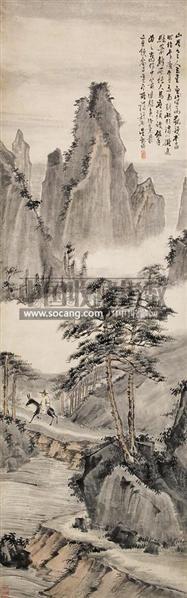 山水人物 - 4780 - 墨华烟云——中国书画专场 - 2012春季文物艺术品拍卖会 -收藏网