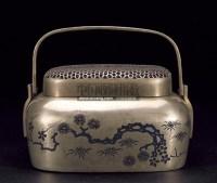 """手炉 -  - 瓷杂专场 - """"惠风和畅""""2012秋季艺术品拍卖会 -中国收藏网"""