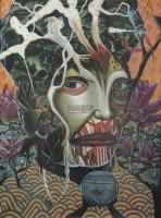 主脑 压克力颜料画布 -  - 现代及当代东南亚艺术 - 2013年春季拍卖会 -收藏网