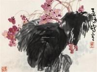 花卉 立轴 设色纸本 - 119597 - 中国书画一 - 2012春季艺术品拍卖会 -收藏网