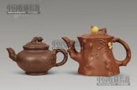 紫砂报春壶 (两把) -  - 瓷玉珍玩 - 2013年首届艺术品拍卖会 -收藏网