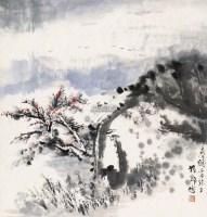 春暖 立轴 设色纸本 - 胡振郎 - 中外书画精品 - 2012年《第一拍卖厅》冬季专场拍卖会 -收藏网