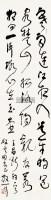 草书 镜片 水墨纸本 - 116750 - 中国名家书画专场(二) - 2012年秋季艺术品拍卖会 -收藏网