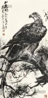 松鹰图 立轴 设色纸本 - 7693 - 中国书画 - 2013春季艺术品拍卖会 -收藏网