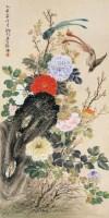 花鸟 立轴 设色纸本 - 131055 - 中外书画精品 - 2012年《第一拍卖厅》冬季专场拍卖会 -收藏网