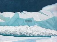 雪 油彩  画布 - 155883 - 中国油画雕塑 - 2012年春季大型艺术品拍卖会 -收藏网