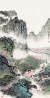 江南春色2 镜心 - 王恒捷 - 当代书画保真返收购专场 - 2012年秋季当代书画保真返收购专场拍卖会 -收藏网