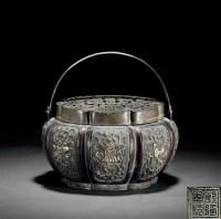 铜錾八宝纹熏炉 -  - 古董珍玩 - 2012春季艺术品拍卖会 -收藏网