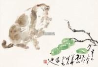 猴 镜心 设色纸本 - 131490 - 中国书画(一) - 2013年大众收藏拍卖会(第一期) -收藏网