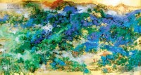 山水 镜片 纸本 - 杨彦 - 中国书画 - 2013年首届艺术品拍卖会 -收藏网