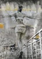 《城市与人》系列三 布面油画 - 11220 - 华人西画 - 2012年秋季暨十周年庆大型艺术品拍卖会 -收藏网