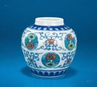 斗彩团菊纹昙 -  - 中国陶瓷及艺术珍玩 - 2013年春季拍卖会 -收藏网