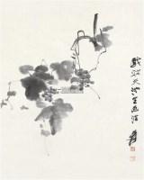 仿青藤山人墨法 立轴 水墨纸本 - 116070 - 中国书画二 - 2012春季艺术品拍卖会 -收藏网