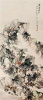 云岚古寺 立轴 设色纸本 - 王宽 - 近现代书画专题 - 2012第三届书画拍卖会 -收藏网