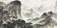 轻舟已过万重山 镜片 设色纸本 - 卢星堂 - 中国当代书画专场 - 2012春季艺术品拍卖 -收藏网
