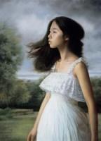 风去繁华竞余逐 布面油画 -  - 华人西画 - 2012年秋季暨十周年庆大型艺术品拍卖会 -收藏网